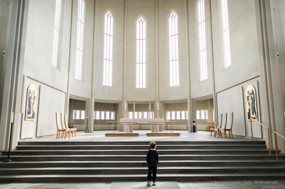 First Encounter with Trascendence. Inside Hallgrímskirkja. Reykjavik, Iceland, August 2015. Nikon D810, 24.0mm (24.0 mm ƒ/1.4) 1/160 sec ƒ/1.6 ISO 6