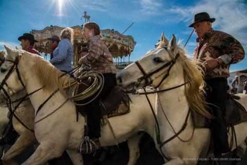 "Merry-go-round. Saintes Maries de la Mer, Camargue, Novembber 2015. Nikon D810, 24 mm (24-120.0 mm ƒ/4) 1/1250"" ƒ/13 ISO 800"