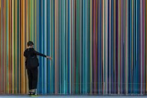 "Pick One. Venice Biennale 2017. Nikon D810, 112mm (24-120mm ƒ/4) 1/80"" ƒ/11 ISO 64"