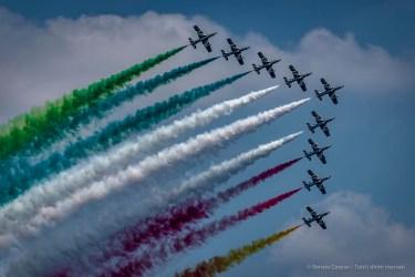 """Frecce Tricolori air show. Arone, 2018. Nikon D750 220 mm (80-400 mmƒ/4.5-5.6) 1/1600"""" ƒ/5.3 ISO 100"""