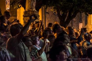 "Fireworks, Pusiano Lake, Madonna della Neve Festival, August 2017. Nikon D810 120 mm (24-120 mmƒ/4) 1,3"" ƒ/11 ISO 1250"