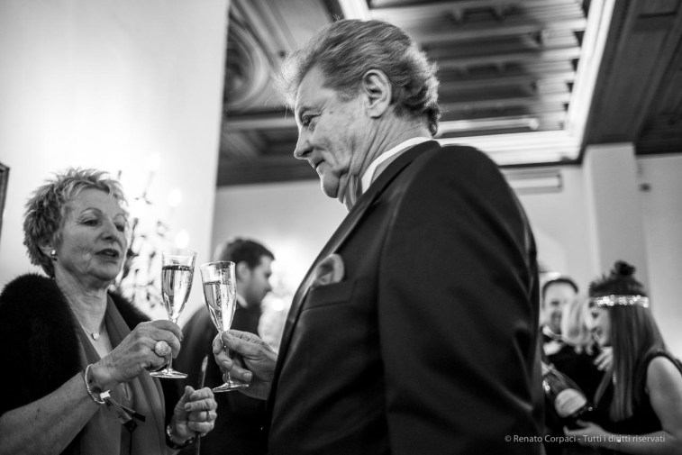 "Badrutt's Palace cocktail reception, Snow Polo World Cup, St. Moritz, January 2018. Nikon D810, 35 mm (35 mm ƒ/2) 1/80"" ƒ/2 ISO 1100"