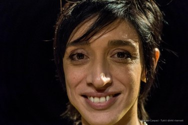 Lorenza Baroncelli, curator Architecture, Urban Regeneration, Fondazione Triennale di Milano, April 2018. Nikon D810, 85 mm (85 mm ƒ/1.4) 1/125 ƒ/5 ISO 12800