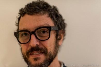 "Massimo Torrigiani, curator, artistic director Center for Contemporary Art, Bari and member artistic committee, Triennale Teatro dell'Arte. Milano, April 2018. Nikon D810, 85 mm (85 mm ƒ/1.4) 1/125"" ƒ/1.4 ISO 1600"