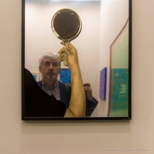 Reflections in a work by Michelangelo Pistoletto. Miart, April 2018. Nikon D810, 44 mm (24-120 mm ƒ/4) 1/125 ƒ/4 ISO 400