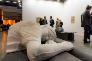 Patrick Tuttofuoco, The Power Napper (white Rio) , 2017. Federica Schiavo Gallery. MiArt 2018. Nikon D810, 44 mm (24-120 mm ƒ/4) 1/125 ƒ/8 ISO 1100