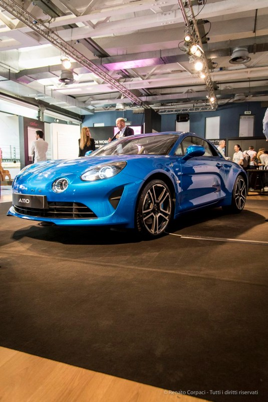 Alpine A110, Via Tortona, Milano Design Week