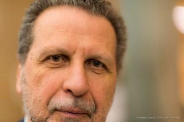 """Andrea Cancellato, formerly general manager, Fondazione Triennale di Milano. April 2018. Nikon D810, 85 mm (85 mmƒ/1.4) 1/125"""" ƒ/1.4 ISO 200"""