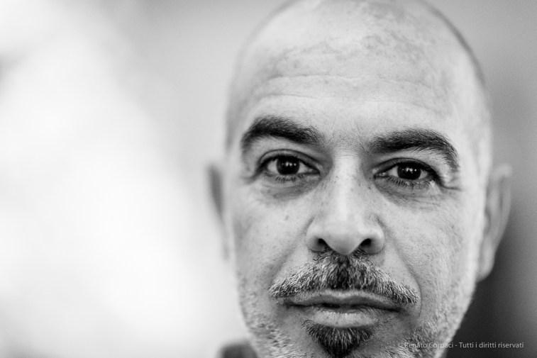 """Javier Marín, Sculptor. Milano, giugno 2018. Nikon D810, 85 mm (85 mm ƒ/1.4) 1/125"""" ƒ/1.4 ISO 4500"""