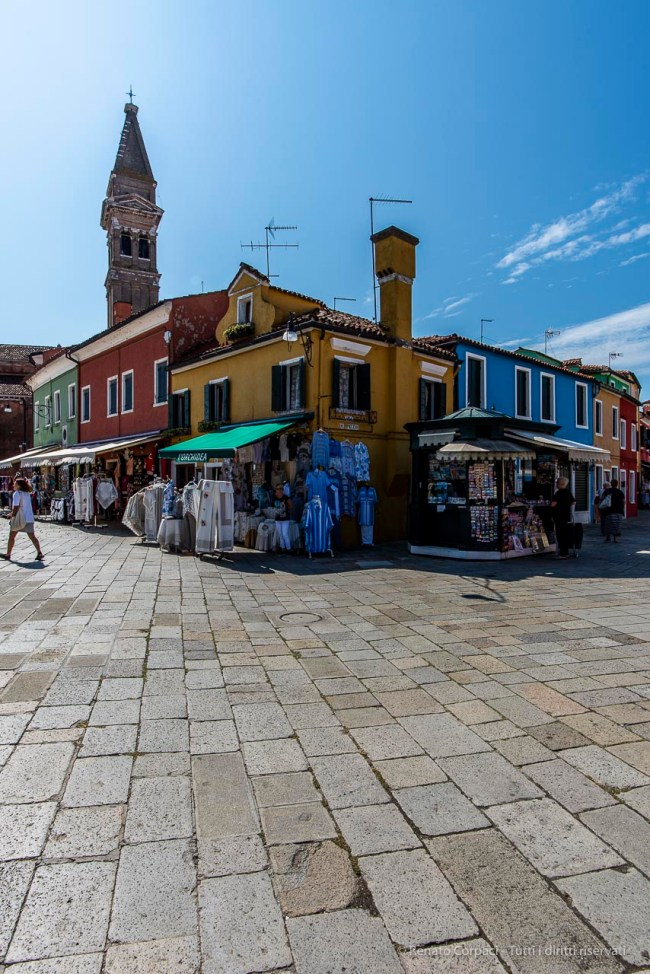 Burano, Venice Laguna. September 2018