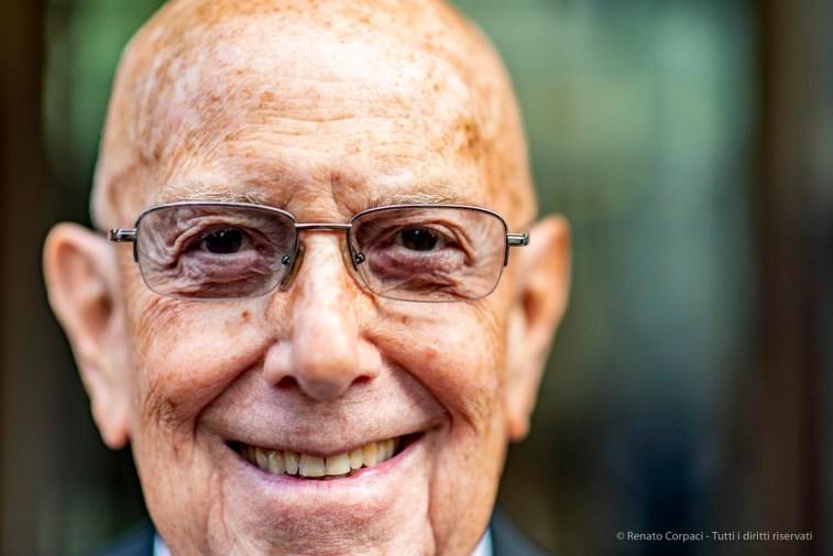 """Mario Boselli, honorary president Camera Nazionale della Moda Italiana. Milano, September 2018. Nikon D810, 85 mm (85 mm ƒ/1.4) 1/160"""" ƒ/1.4 ISO 64"""