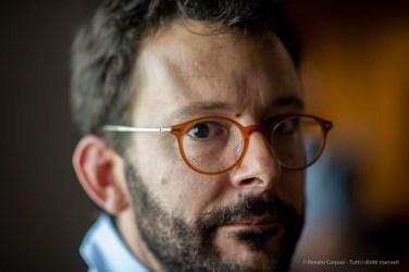 Matthieu Rivallin, curator Département de la photographie de la Médiathèque de l'architecture et du patrimoine. Venezia, Settember 2018.