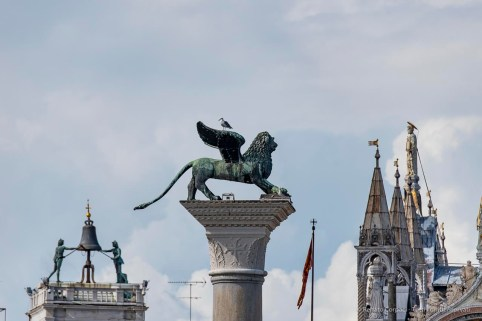 "Piazza San Marco. Venice, September 2018. Nikon D750, 400 mm (80-400 mm ƒ/4.5-5.6) 1/1000"" ƒ/5.6 ISO 100"