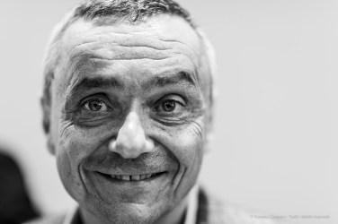 """Tobia Bezzola, art historian, director MASI-Museo d'Arte della Svizzera Italiana. Lugano, September 2018. Nikon D810, 85 mm (85 mm ƒ/1.4) 1/125"""" ƒ/1.4 ISO 220"""