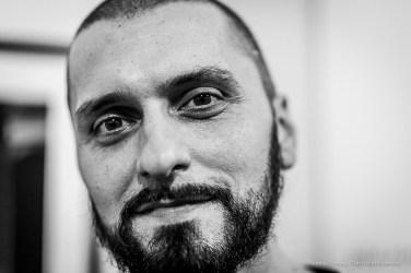 "Daniele Pollice, fotografo. Milano, January 2019. . Nikon D810, 85 mm (85 mm ƒ/1.4) 1/125"" ƒ/1.4 ISO 720"