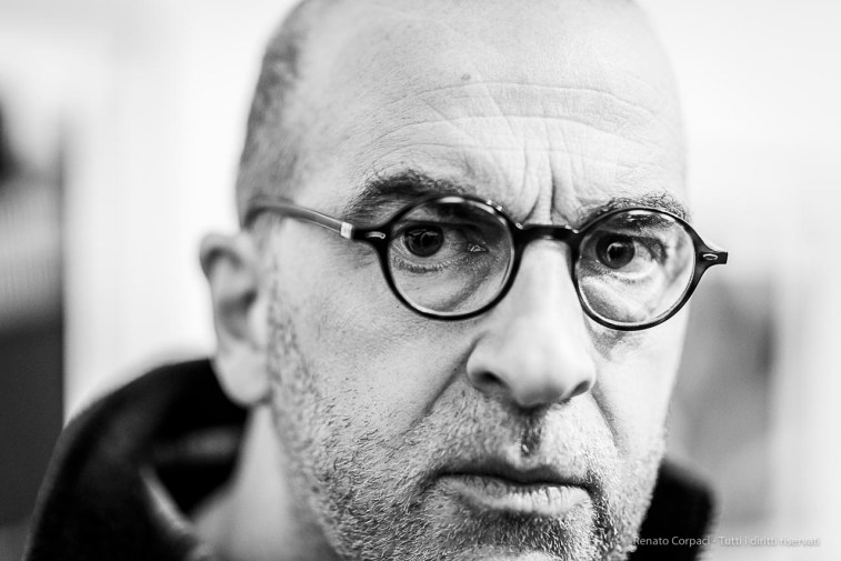"""Francesco Maria Rossi, journalist, satirical writer, artist and performer founder of museums. Milano, January 2019. . Nikon D810, 85 mm (85 mm ƒ/1.4) 1/125"""" ƒ/1.4 ISO 500"""