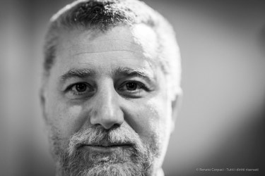 Giovanni Carlo Federico Villa, professor of Modern Art History and Director of the University Visual Art Center, University of Bergamo. Milano, February 2019. Nikon D800 85 mm (85 mm ƒ/1.4) 1/125 ƒ/1.4 ISO 1250