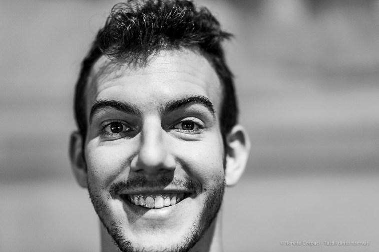 Emanuele Lambertini, fencing paralympic athlete. Reggio Emilia, April 2019. D810, 85 mm (85 mm ƒ/1.4) 1/125 ƒ/1.4 ISO 360