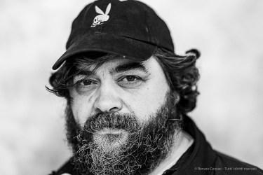 Jacopo Benassi, photographer. Reggio Emilia, April 2019. D810, 85 mm (85 mm ƒ/1.4) 1/125 ƒ/1.4 ISO 1800