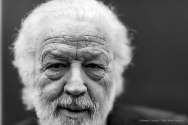 """Bruno Corà, president. Fondazione Palazzo Albizzini Collezione Burri. Nikon D810, 85 mm (85.0 mm ƒ/1.4) 1/125"""" ƒ/1.4 ISO 1400"""