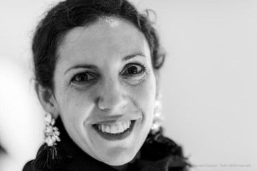 "Stella Bottai, Fiorucci Art Trust curator. Venezia, May 2019. Nikon D810, 85 mm (85.0 mm ƒ/1.4) 1/125"" ƒ/1.4 ISO 2000"