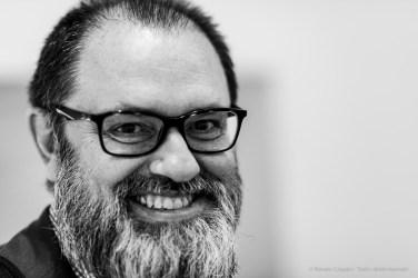 """Giorgio Zanchetti, Contemporary Art History professor, Università degli Studi di Milano. Milano, June 2019. Nikon D810 85 mm (85 mm ƒ/1.4) 1/125"""" ƒ/1.4 ISO 1100"""
