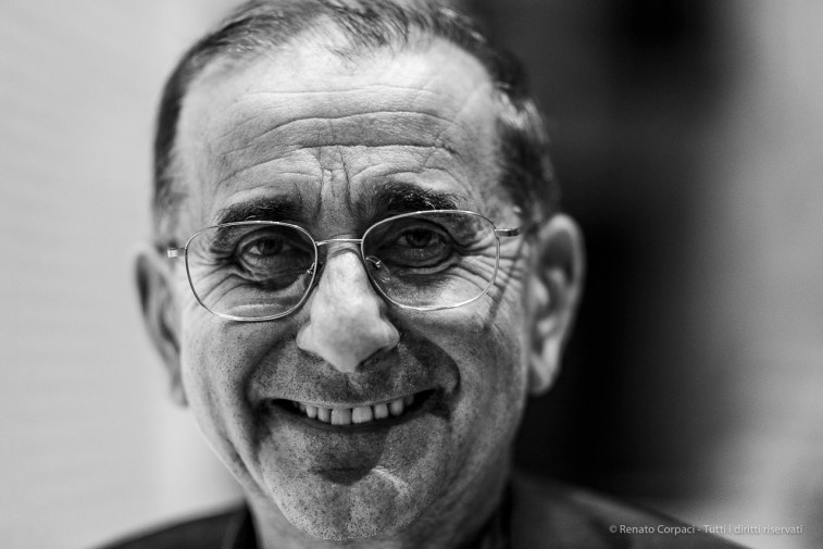 "Monsignor Mario Delpini, archibishop of Milano, June 2019. Nikon D810 85 mm (85 mm ƒ/1.4) 1/125"" ƒ/1.4 ISO 900"
