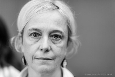 "Paola Zatti, Head-curator, Galleria d'Arte Moderna. Milano, September 2019. Nikon D810, 85mm (85,0 mm ƒ/1.4) 1/125"" ƒ/1.4 ISO 2800"