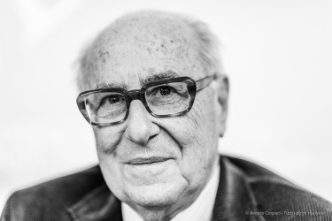 """Alredo Bianchini, president, Fondazione Emilio e Annabbianca Vedova Milano, December 2019. Nikon D810, 85mm (85,0 mm ƒ/1.4) 1/125"""" ƒ/1.4 ISO 1100"""