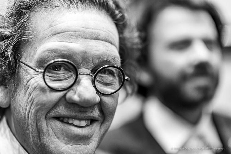 "Philippe Daverio, Philip Daverio, Art Historian, Academic, Author, politician, TV personality. Milano, February 2020. Nikon D810, 85mm (85,0 mm ƒ/1.4) 1/125"" ƒ/1.4 ISO 280"