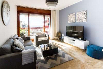 Sala appartamento Bordighera