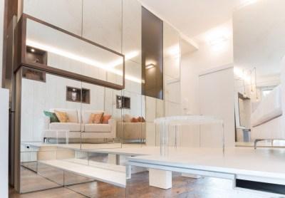 Foto del salone di un appartamento a Monaco