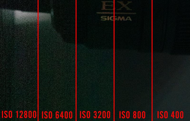 immagine per far capire il rumore digitale