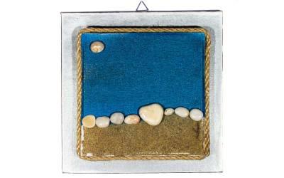 "Pebble Art o ""Arte di dipingere i sassi"""