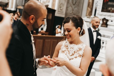 Scambio delle fedi matrimonio Taggia