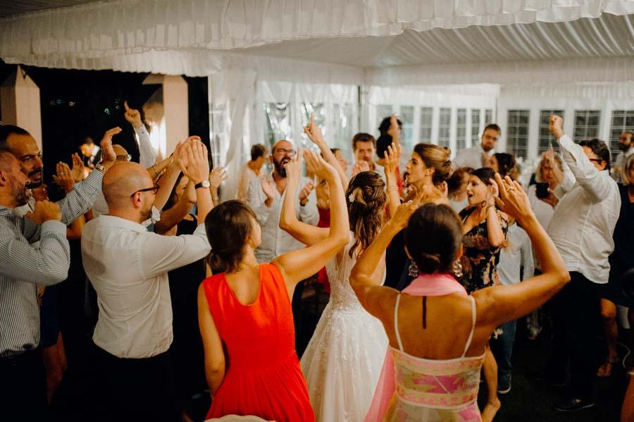 Festeggiamenti matrimonio a Villa Roseto