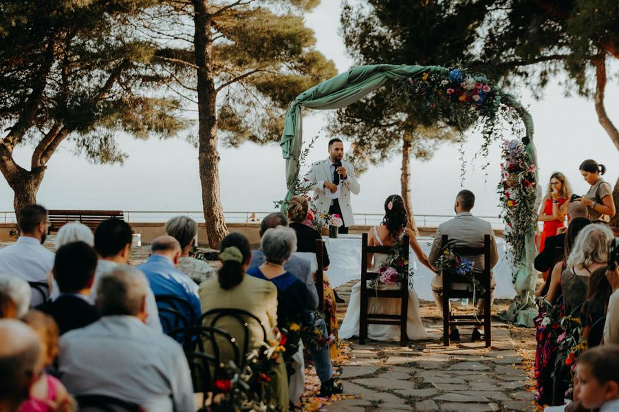 discorso testimone durante Rito Civile a Sanremo