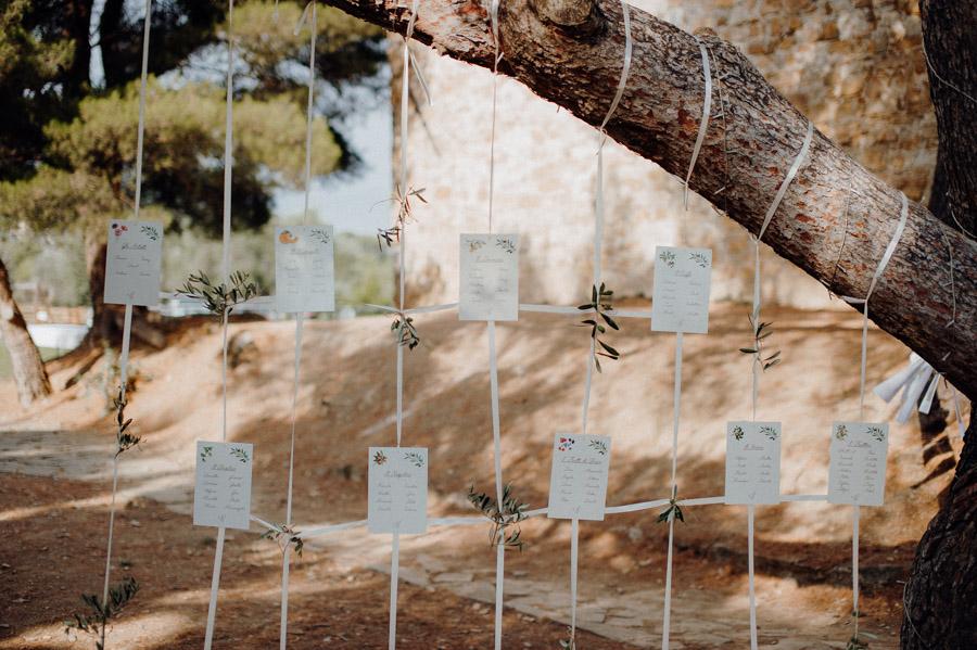 fotografia di dettaglio dei preparativi del matrimonio