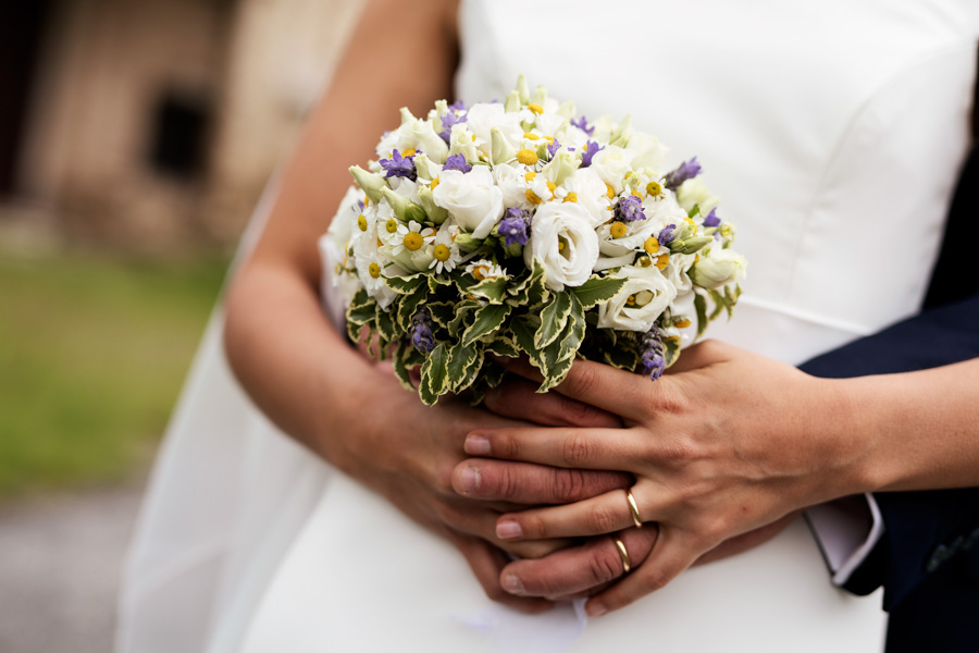 Dettaglio bouquet wedding