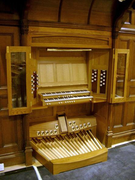 Renatus Ltd  Organ Building Services  Consoles
