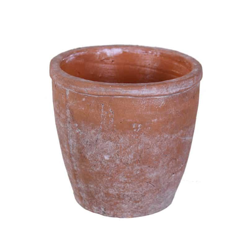 cache pot rond en terre cuite yorola grossiste fleuriste