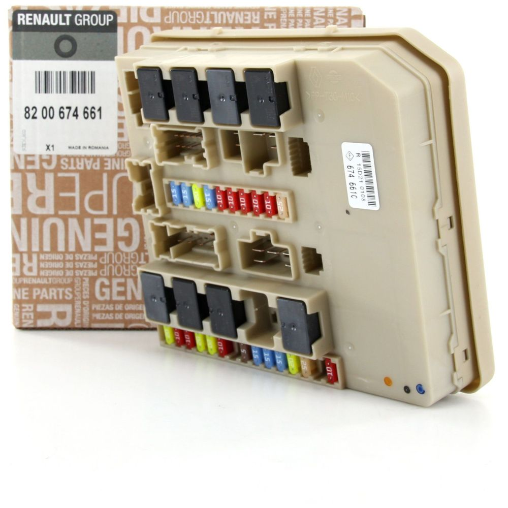 medium resolution of renault clio iii or modus fuse box relay unit module 8200233293 8200456181 8200674661