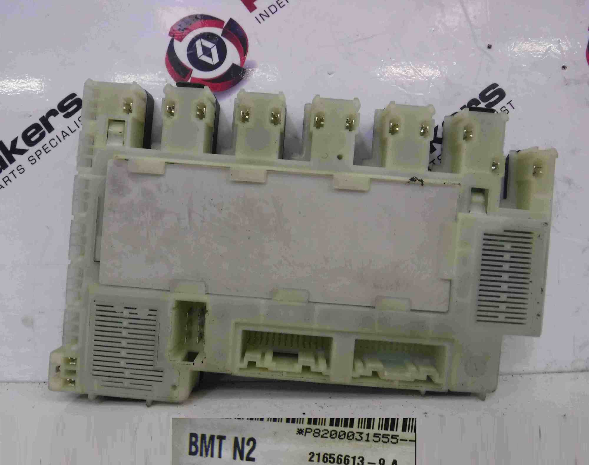 hight resolution of renault clio mk2 1998 2001 dashboard fuse box uch bcm n2 8200031555