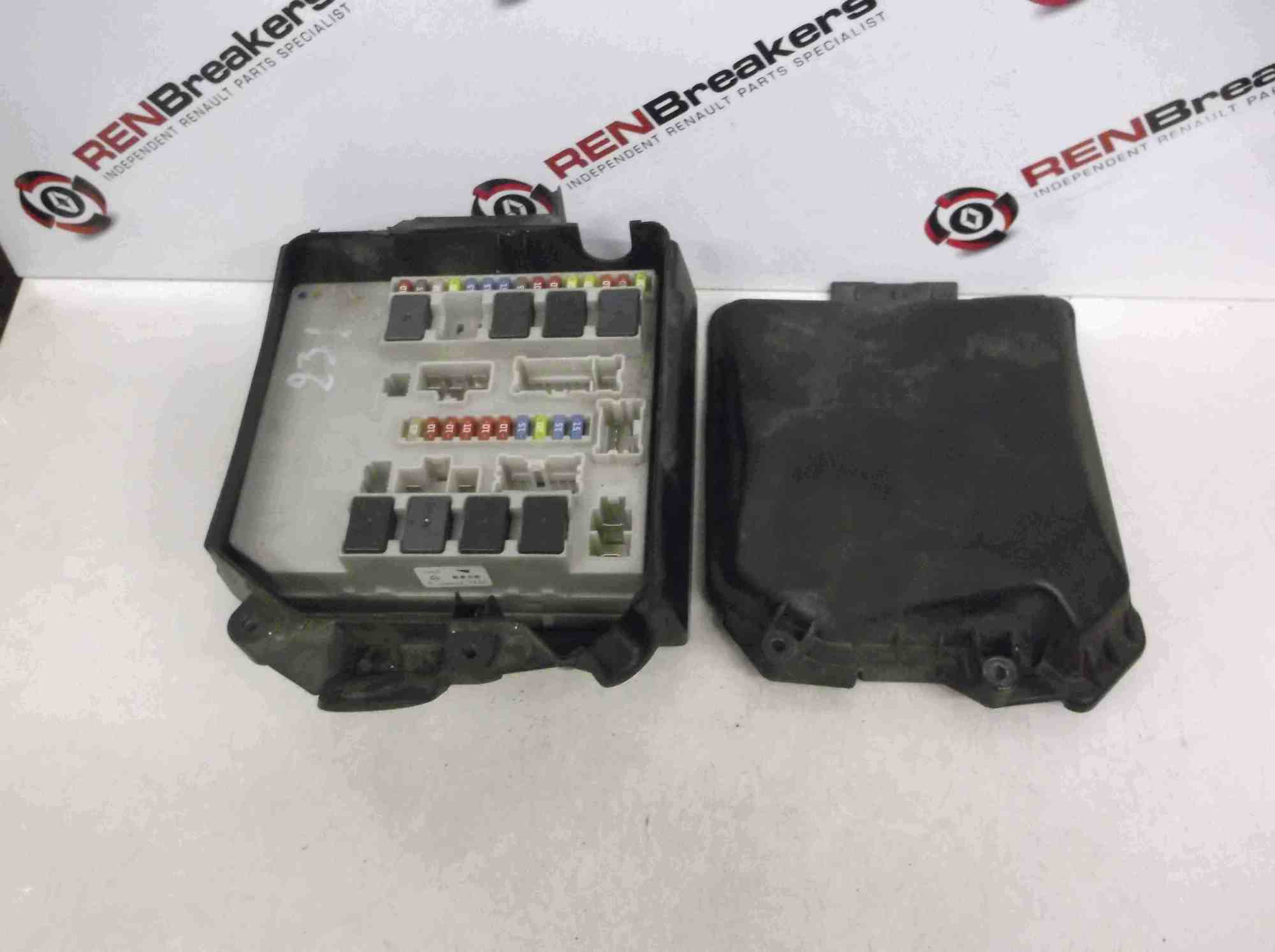 hight resolution of renault clio mk3 modus 2005 2012 engine bay fuse box relay upc 1988 honda prelude fuse box location renault clio relay fuse box