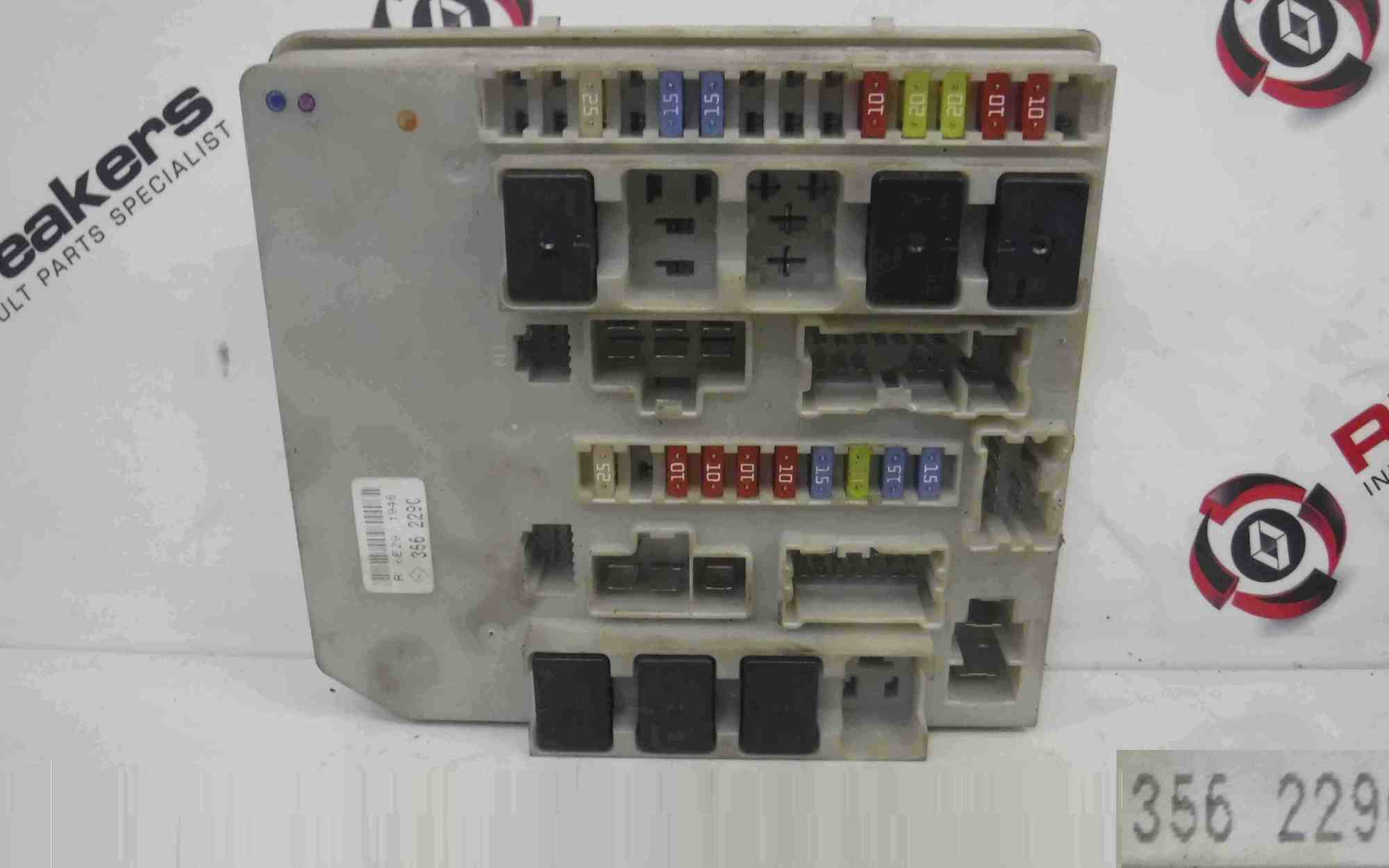 hight resolution of renault clio mk3 modus 2005 2012 engine fuse box upc unit 356229 store