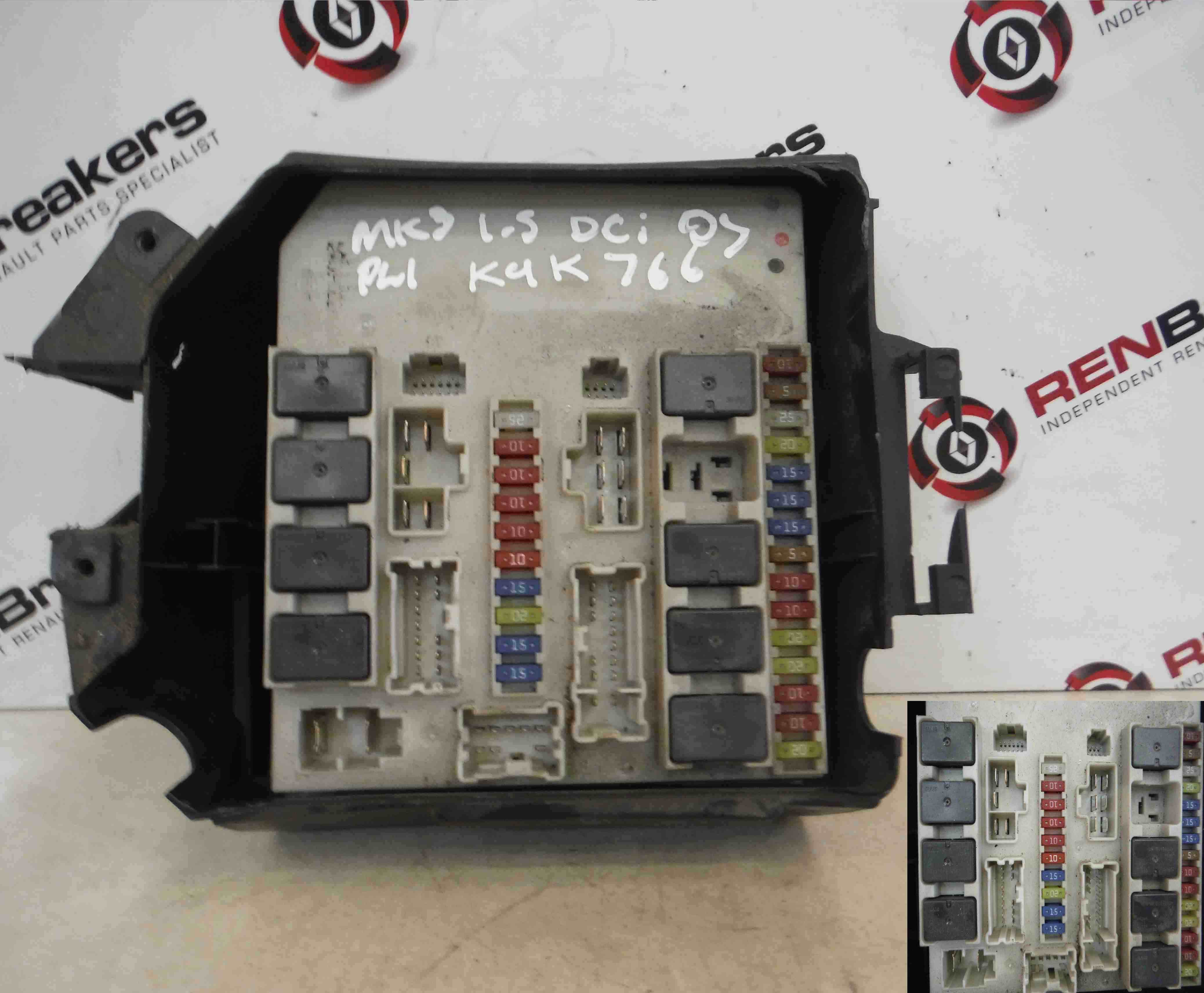 renault laguna fuse box diagram what is an electron dot clio mk3 2005-2009 engine bay upc - store breakers used car ...