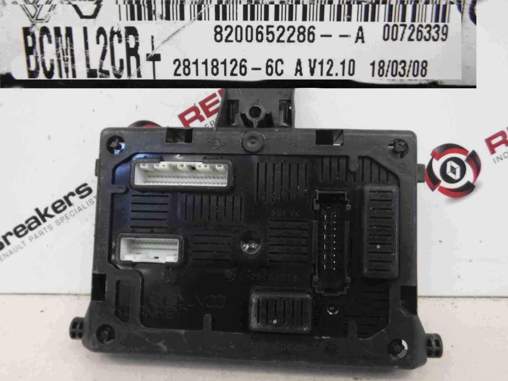 medium resolution of renault clio mk3 2005 2012 dashboard bcm uch bsi relay fuse box l2cr 8200652286
