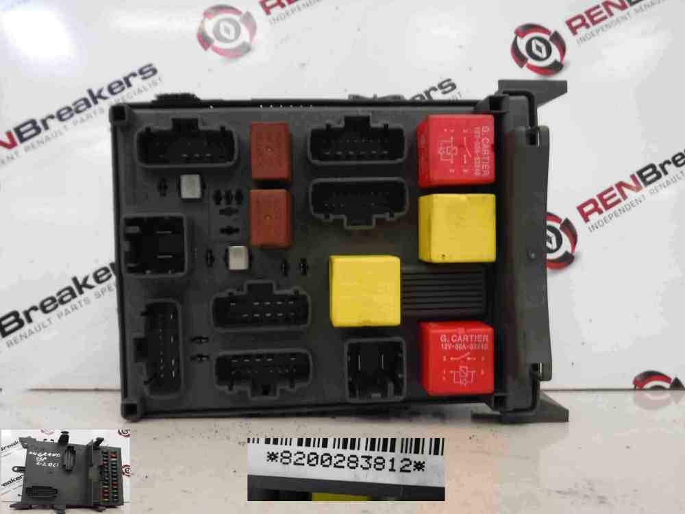 medium resolution of renault espace 2003 2013 interior dashboad fuse box relay computer 8200283812