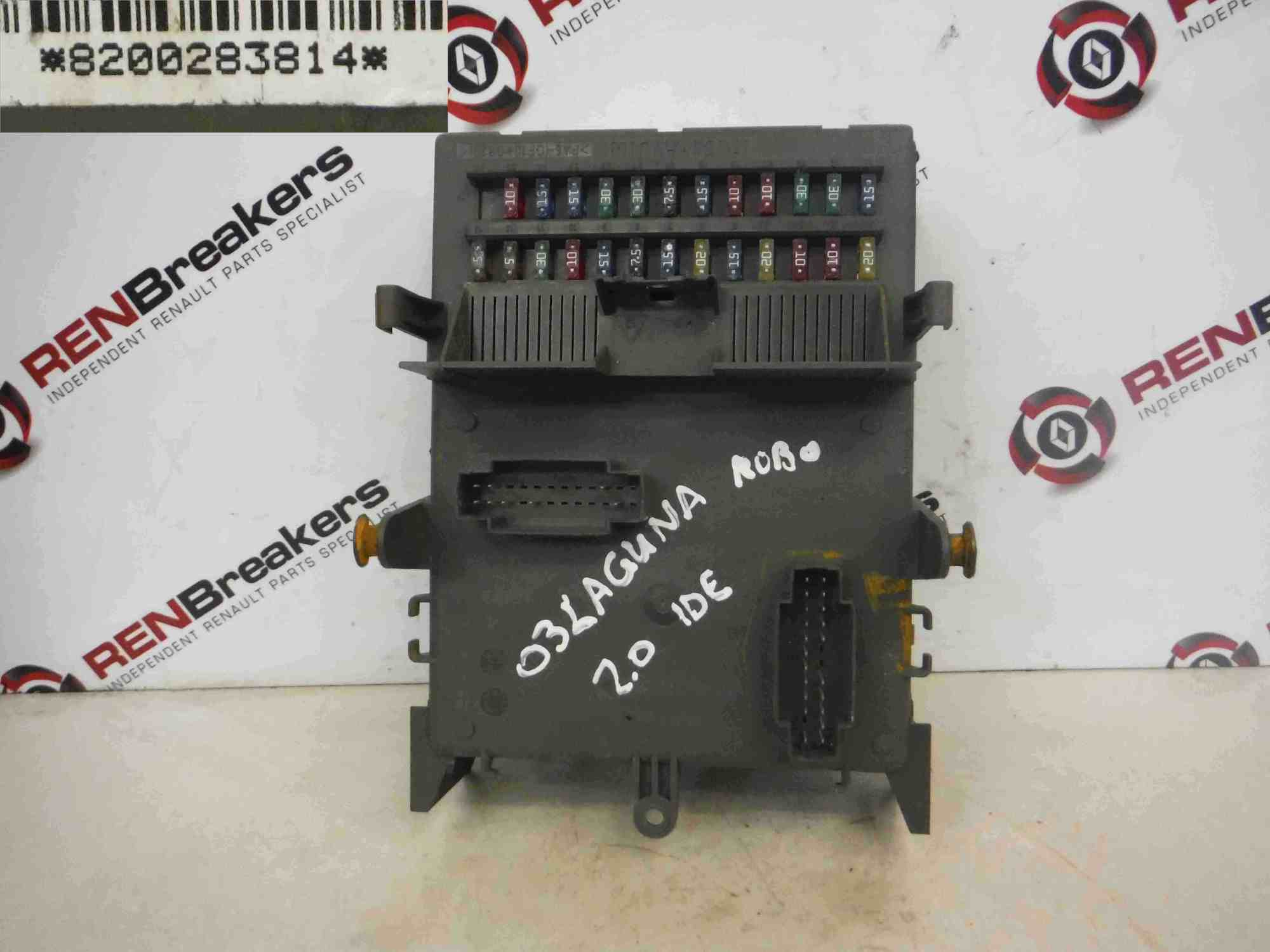 hight resolution of renault clio fuse box 2007
