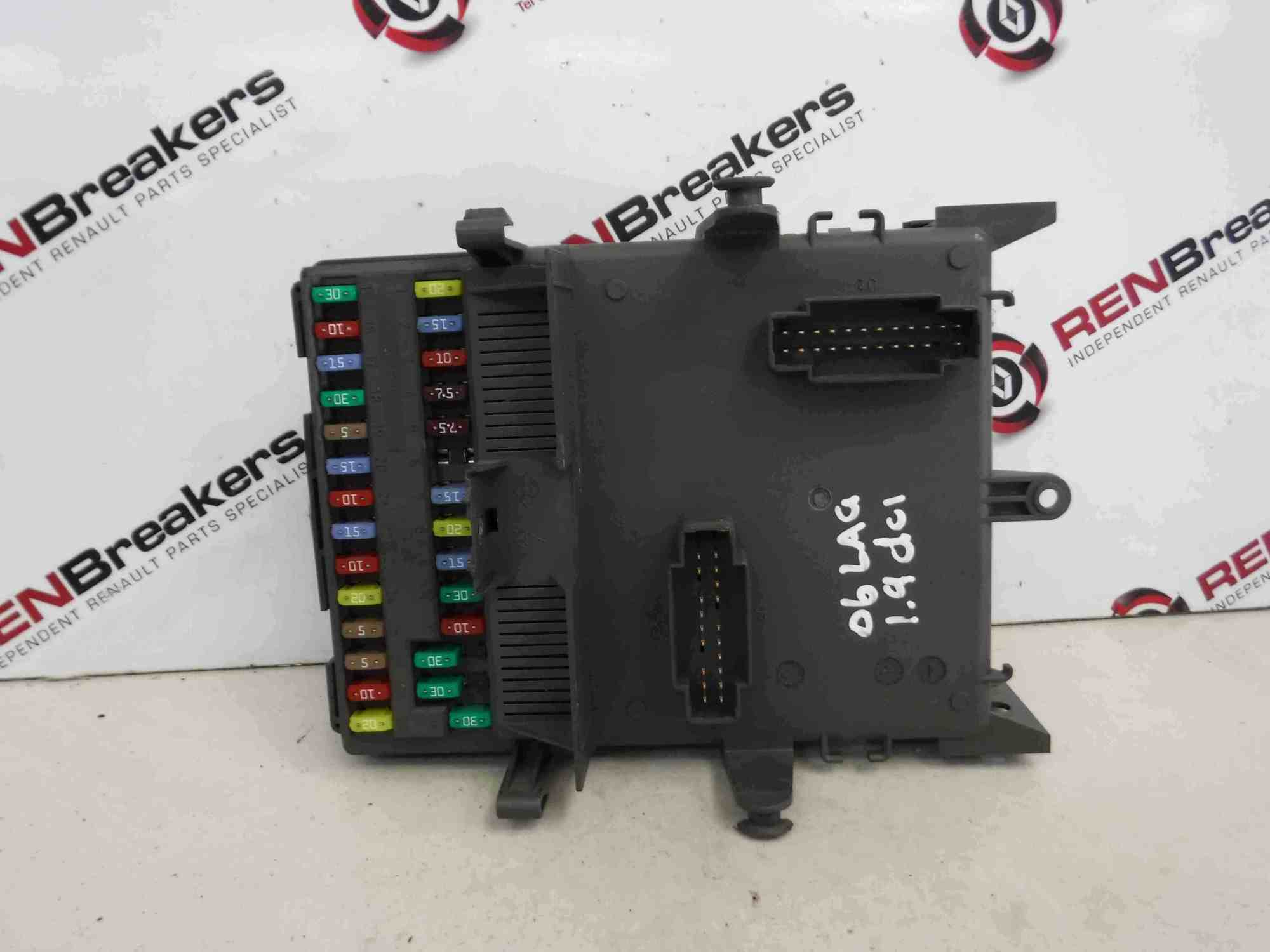 hight resolution of details about renault laguna 2001 2007 interior fuse box relay computer ecu 8200148809